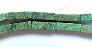 Green Turquoise  -  Rectangles  16""