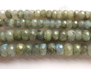 Labradorite AA  -  Faceted Rondels  16""