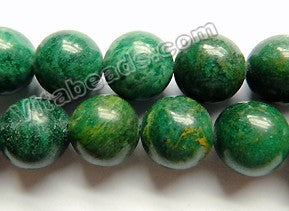Africa Jade Natural A  -  Smooth Round  16""