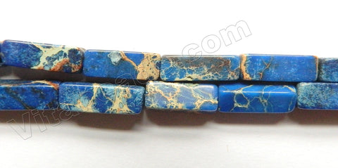 Sapphire Impression Jasper  -  Rectangle 16""