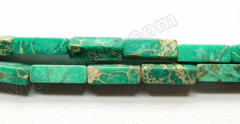 Emerald Impression Jasper  -  Rectangle 16""