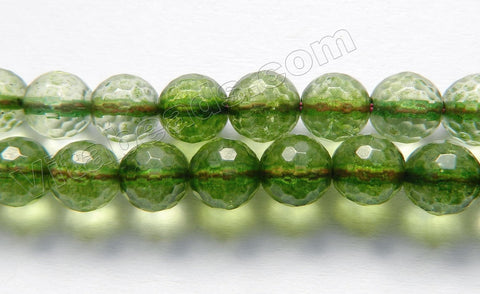Explosion Crystal Natural - Emerald - Faceted Round