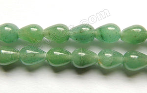 Green Aventurine  -  Smooth Drops  16""