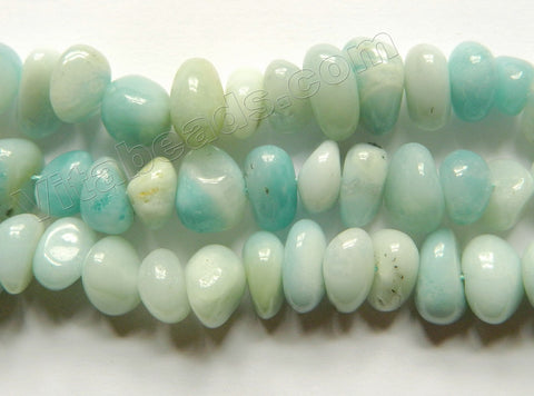Amazonite  -  Center Drilled Tumble  16""