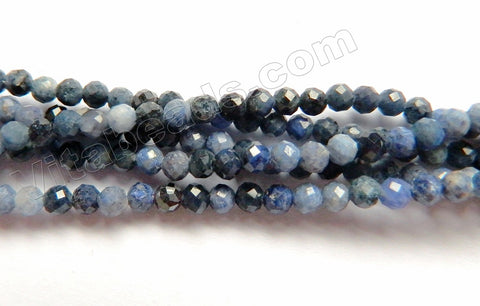 Sodalite  -   Small Faceted Round  15.5""