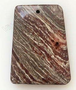 Pendant - Smooth Ladder Surreal Jasper