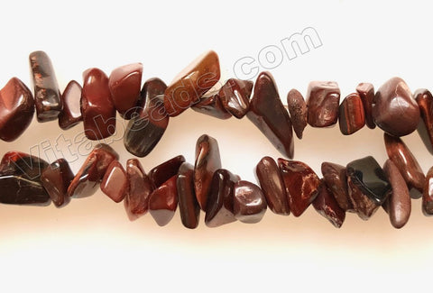 Red Tiger Eye -  Chips 36""