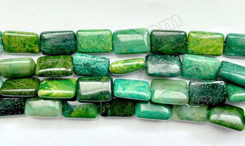 Africa Jade - Puff Rectangle 16""