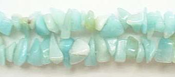 Amazonite  -  8mm Chips 36""