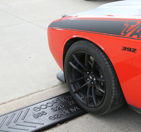 Ez-Drive Curb Ramps, for steep driveways
