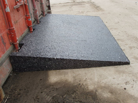 Rubber Container Ramp Will Help You Save Time And Money