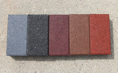 Churchill individual pavers - Bricks - Eco Flex Recycled Rubber Solutions