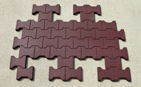 I-Mat Interlock - Tiles - Eco Flex Recycled Rubber Solutions