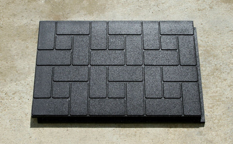 Sidewalk Blocks 2'x3', 4'x5' - Tiles - Eco Flex Recycled Rubber Solutions