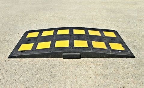 Speed Humps - Humps - Eco Flex Recycled Rubber Solutions