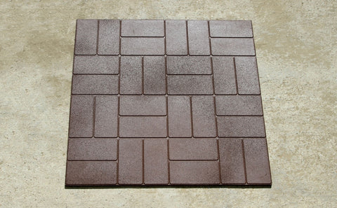 Square Yard Tiles 3'x3' - Tiles - Eco Flex Recycled Rubber Solutions
