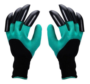Garden Gloves with Claws for Digging & Planting