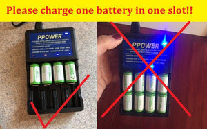 Warnings of using charger