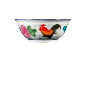 Rooster rice bowl