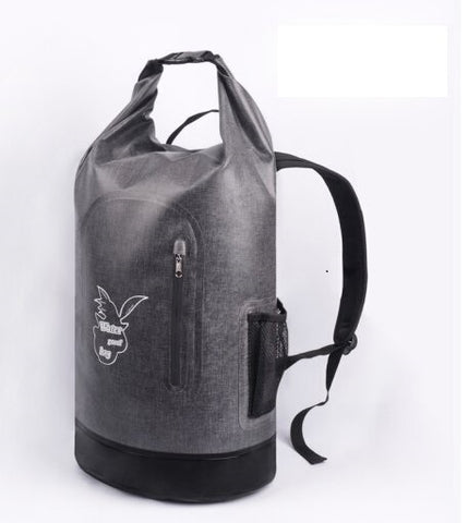 Waterproof backpack (grey)