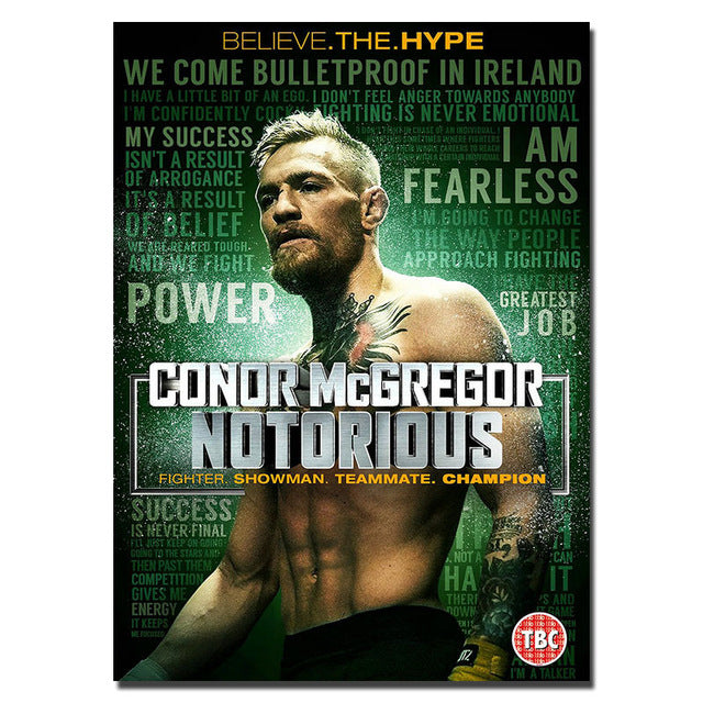 Conor McGregor motivational quotes.