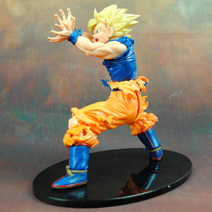 Dragon Ball Z Son Goku Anime Super Saiyan Action Figure Collectible left.