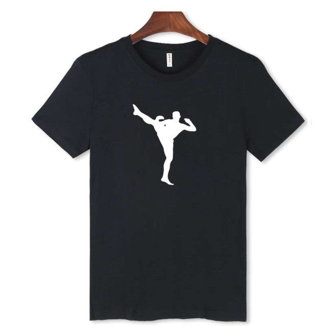 High kick tshirt.