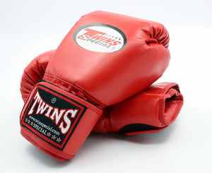 Twins Boxing Gloves red.