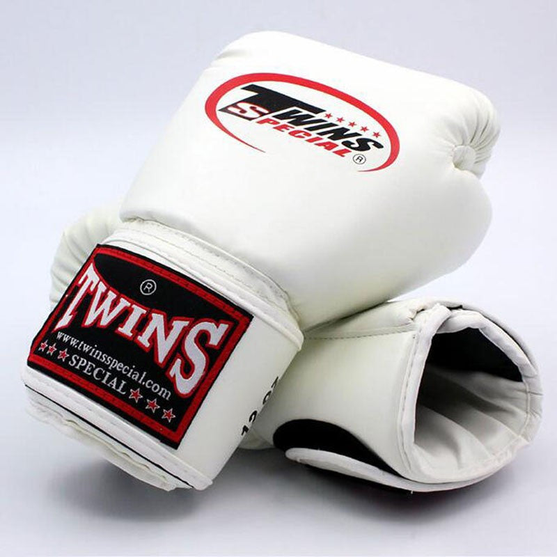 Twins Boxing Gloves white.