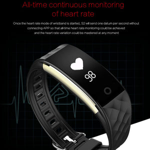 Monitor heart rate.