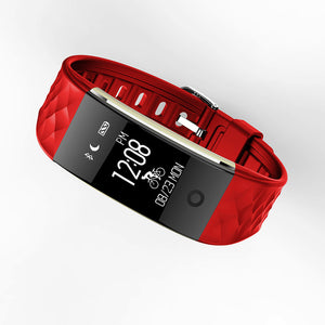 Red Men's Smart Watch & Heart Rate Monitor For Android.
