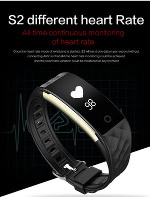 S2 smartwatch heart rates.