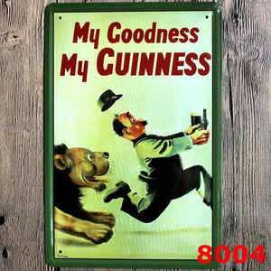 Guinness Original Metal Retro Signs.