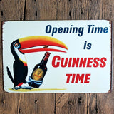 Guinness Retro Signs.