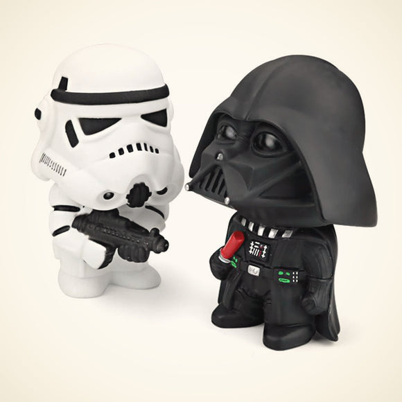 Star Wars Darth Vader Stormtroopers bobble heads.