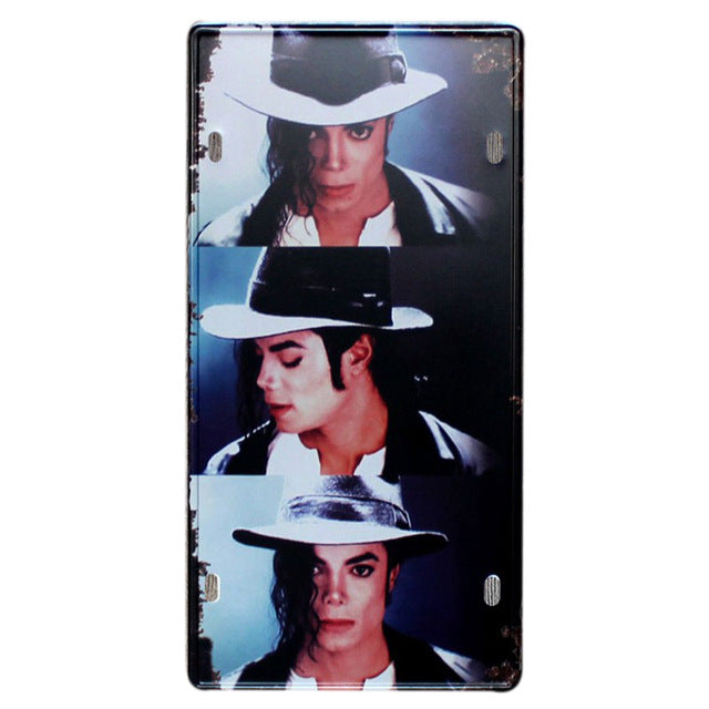 Michael Jackson video wall poster.