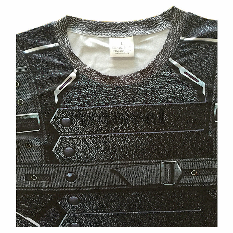 Compression Shirt Men neck.