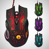 Gaming Mouse 3200DPI LED Optical mice.