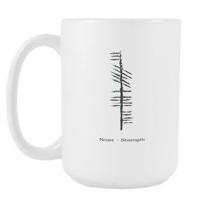 Strength - Neart, Custom Designed 15oz Mug.