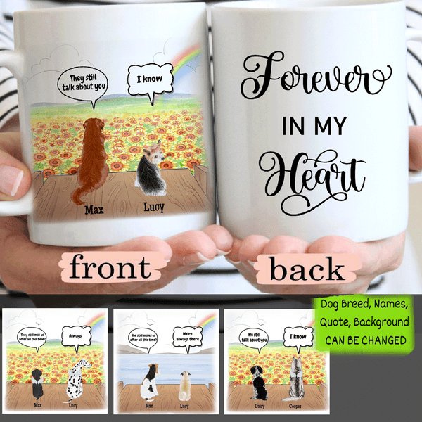 Personalized Dog - Forever In My Heart - Mug