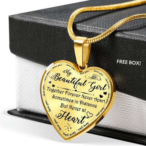 To My Beautiful Girl - Together Forever Luxury Necklace