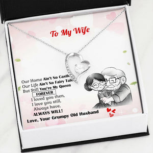 To My Wife I Love You Forever Luxury Necklace
