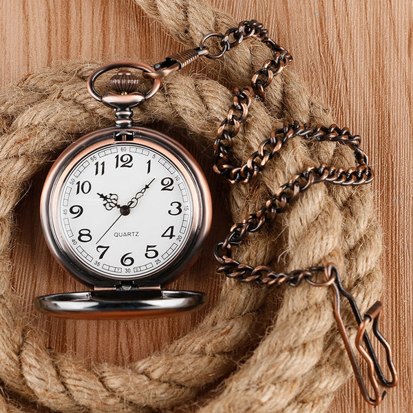 I Wish I Could Turn Back Time Personalized Pocket Watch