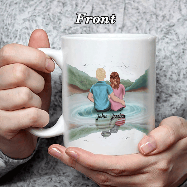 Personalized I Love You Coffee Mug