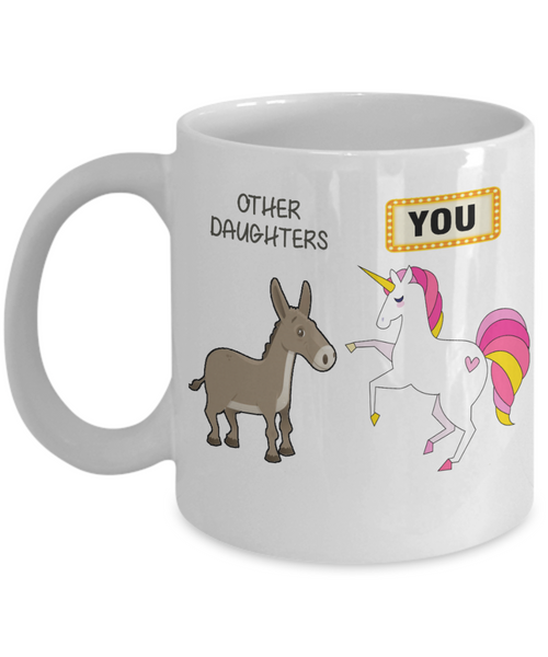 Hilarious Daughter Coffee Mug Gift
