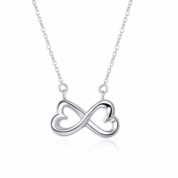 To My Girlfriend How Special You Are To Me Infinity Heart Necklace Gift Box