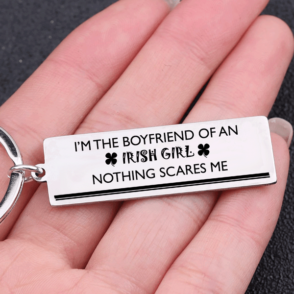 Boyfriend of An Irish Girl Keychain
