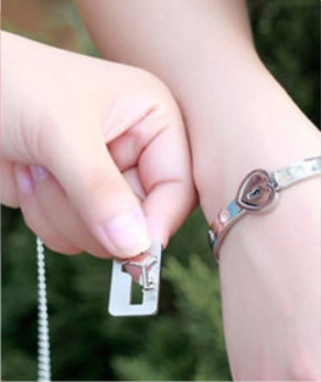 7994d82125 Forever Love Lock & Key Couple Bracelet Pendant – Most Needed Gifts