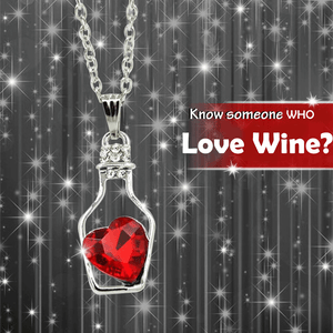 Love in Bottle Pendant Necklace