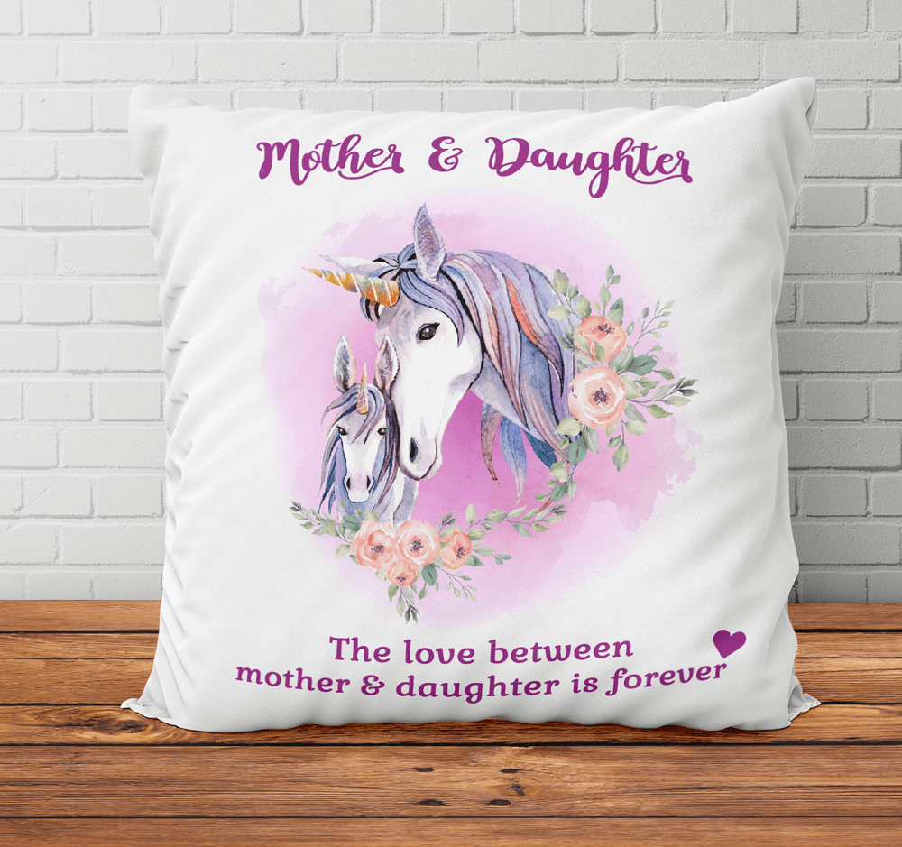 The Love Between Mother and Daughter is Forever - Pillowcase Gift